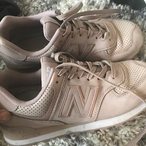 Rose gold/blush New Balance 574 size 9